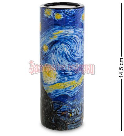 """pr-TC02GO Подсвечник """"The Starry Night"""" Винсент Ван Гог (Museum Parastone)"""
