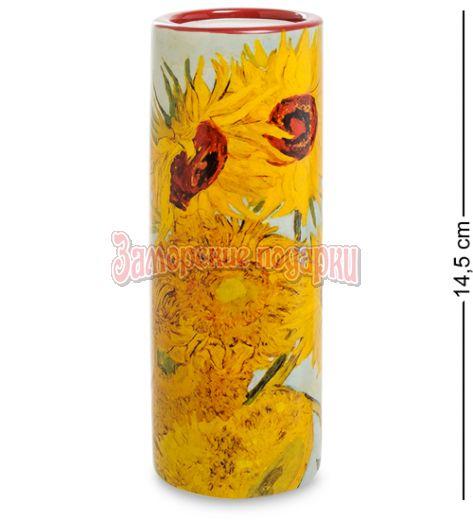 "pr-TC01GO Подсвечник ""Sunflowers"" Винсент Ван Гог (Museum Parastone)"