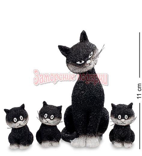 "DUB 22 Статуэтка ""Дружный ряд"" (Cats in a row.Parastone)"