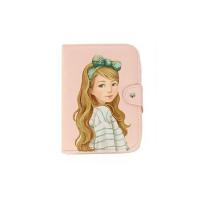 Шкатулка для украшений Маленькая Фея в зеленом (цвет розовый)_2