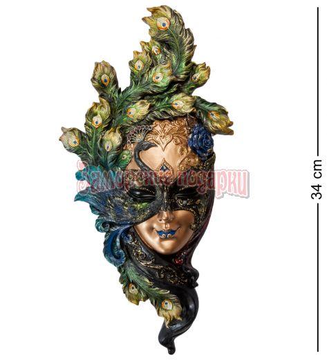 """WS-307 Венецианская маска """"Павлин"""""""