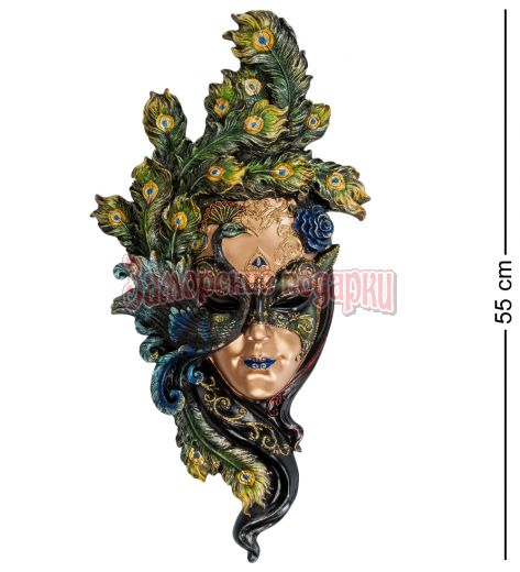 "WS-311 Венецианская маска ""Павлин"" бол."