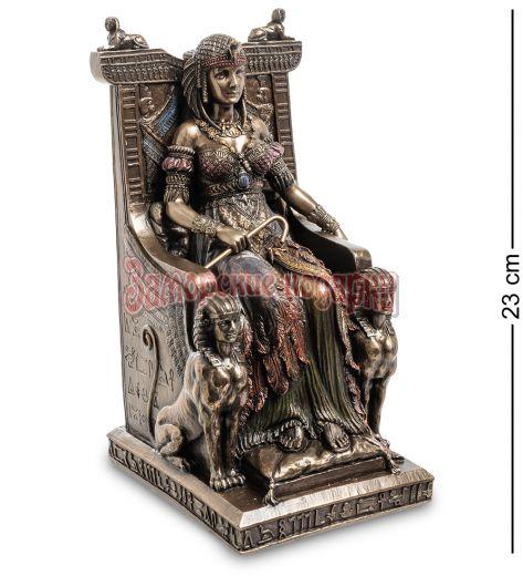 """WS-468 Статуэтка """"Египетская царица на троне"""""""