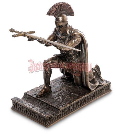 "WS-1024 Статуэтка с ножом канцелярским ""Римский воин"""