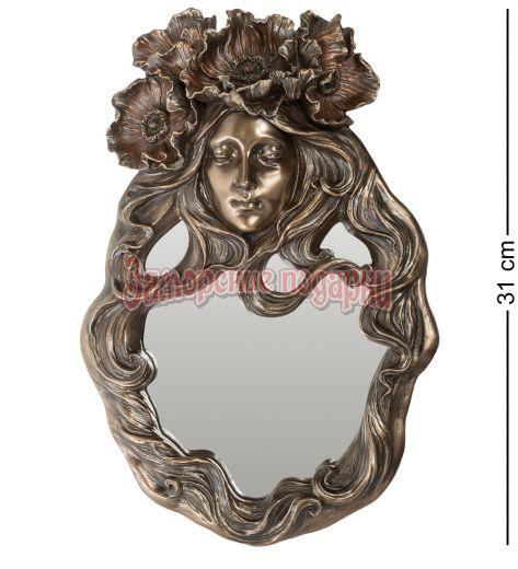 """WS-587 Зеркало """"Цветок мака"""""""