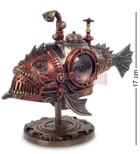 "WS-191 Статуэтка в стиле Стимпанк ""Рыба"""