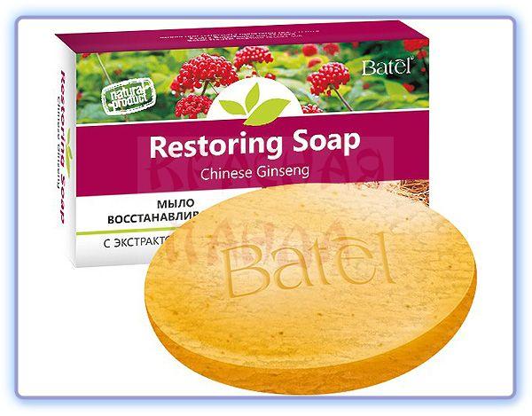 Восстанавливающее мыло с экстрактом женьшеня