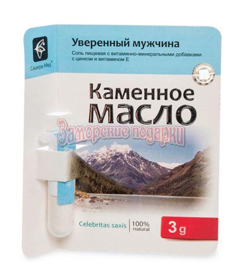 """MED-13/17 """"Каменное масло"""" с витамином B13 и кальцием. Острый ум. 3,0 г"""