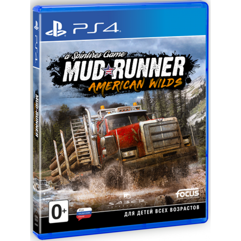 Игра Spintires : Mud Runner American Wilds (PS4)