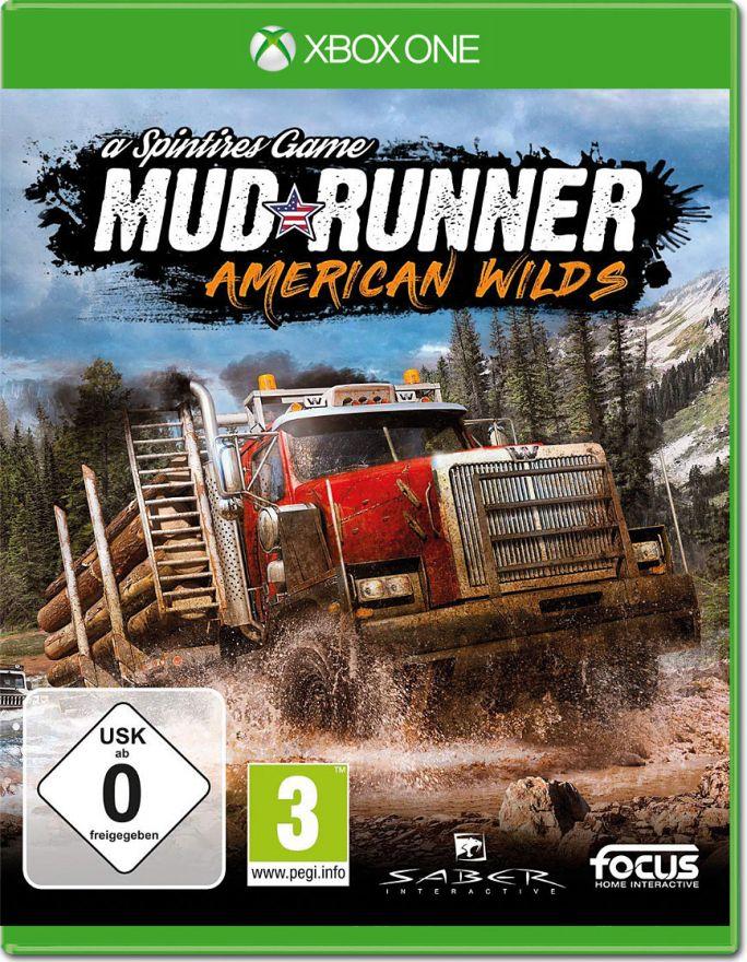Игра Spintires : Mud Runner American Wilds (Xbox One)