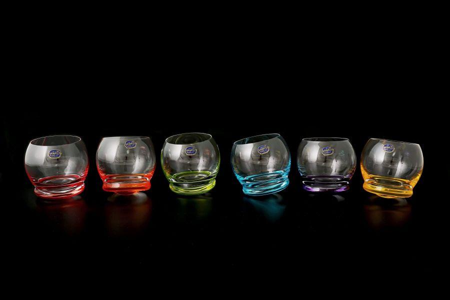 """Набор стаканов для воды 390 мл """"Crazy"""", 6 шт."""