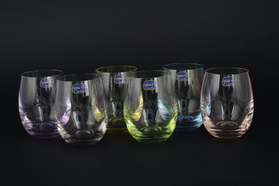 """Набор стаканов для воды 220 мл """"Арлекино"""", 6 шт."""