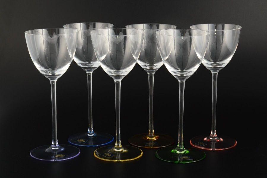 "Набор бокалов для вина 200 мл ""Арлекино SUZANNE"", 6 шт."