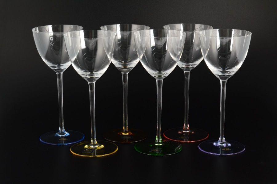 "Набор бокалов для вина 260 мл ""Арлекино SUZANNE"", 6 шт."