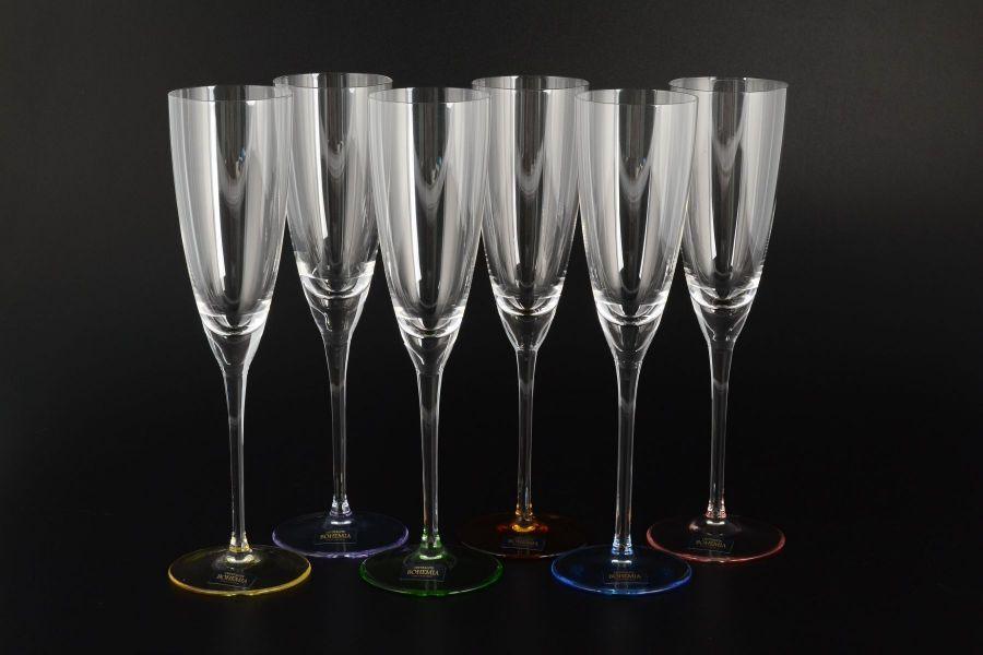 """Набор фужеров для шампанского 180 мл """"Арлекино SUZANNE"""", 6 шт."""