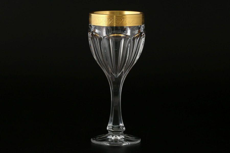 "Набор бокалов для вина 190 мл ""Сафари"" голд"