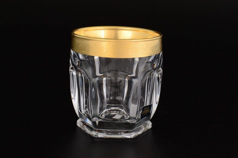 """Набор стаканов для виски 250 """"Сафари"""" голд"""