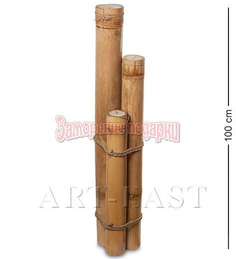 70-001 Подсвечник БАМБУК со свечой 100 см