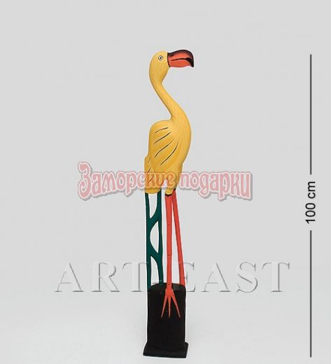 """90-015 Статуэтка """"Желтый Фламинго"""" 100 см"""