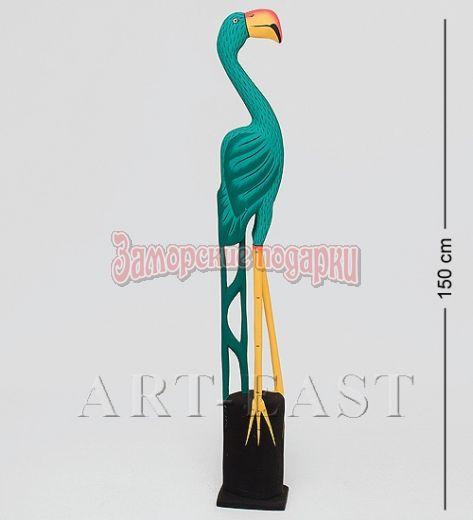 "90-019 Статуэтка ""Зеленый Фламинго"" 150 см"