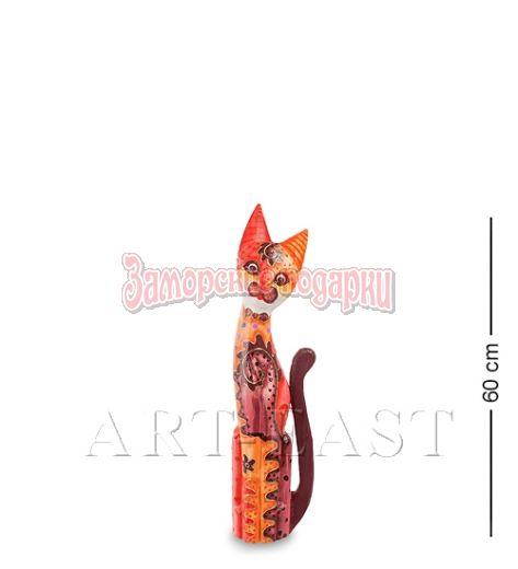 """99-278 Статуэтка """"Кошка"""" 60 см (албезия, о.Бали)"""