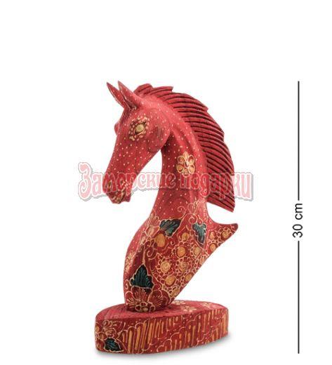 """10-014-03 Фигурка """"Лошадь"""" (батик, о.Ява) бол 25 см"""