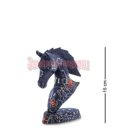 """10-015-01 Фигурка """"Лошадь"""" (батик, о.Ява) мал 15 см"""
