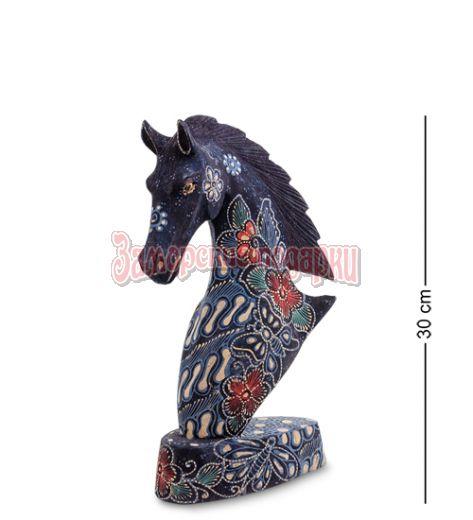 """10-015-03 Фигурка """"Лошадь"""" (батик, о.Ява) бол 25 см"""