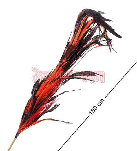 14-048 Декоративный веничек из перьев (о. Бали)
