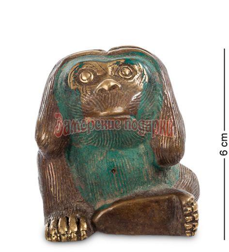 """24-069 Фигура """"Обезьяна"""" бронза (о.Бали)"""