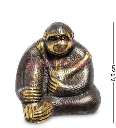 "24-012 Фигура ""Горилла"" бронза (о.Бали) средняя"