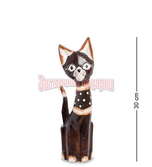 """99-149 Статуэтка """"Кошка"""" 30 см (албезия, о.Бали)"""