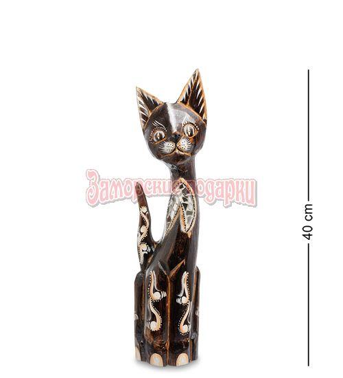 """99-176 Статуэтка """"Кошка"""" 40 см (албезия, о.Бали)"""