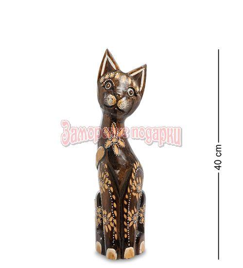 """99-342 Статуэтка """"Кошка"""" 40 см (албезия, о.Бали)"""