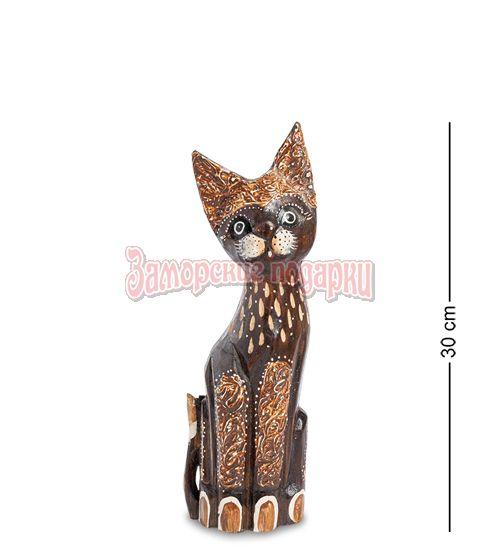 """99-349 Статуэтка """"Кошка"""" 30 см (албезия, о.Бали)"""