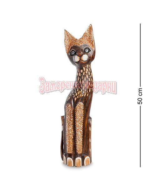 """99-347 Статуэтка """"Кошка"""" 50 см (албезия, о.Бали)"""