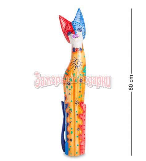 """99-263 Статуэтка """"Кошка"""" 80 см (албезия, о.Бали)"""
