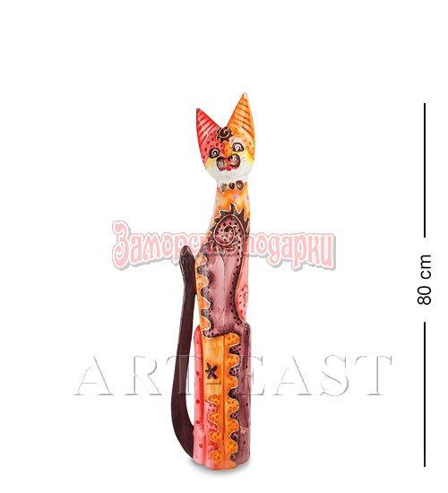 """99-277 Статуэтка """"Кошка"""" 80 см (албезия, о.Бали)"""