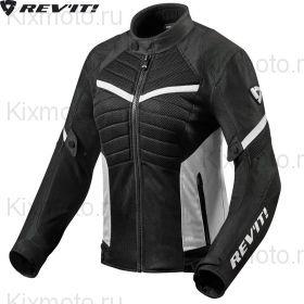 Мотокуртка женская Revit Arc Air, Черно-белая