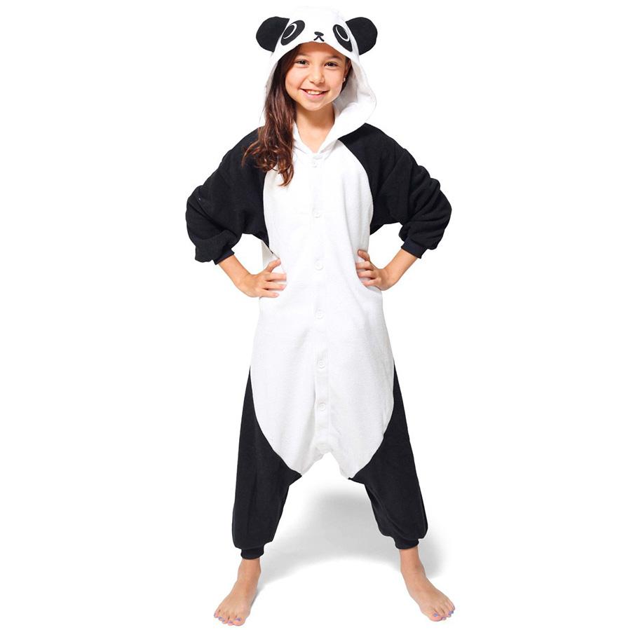 Детская Пижама Кигуруми Панда Кунг-фу