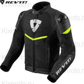 Куртка Revit Mantis, Черная с неоновым желтым
