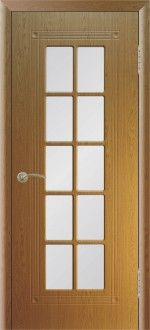 Межкомнатная дверь ПР 35 с решеткой