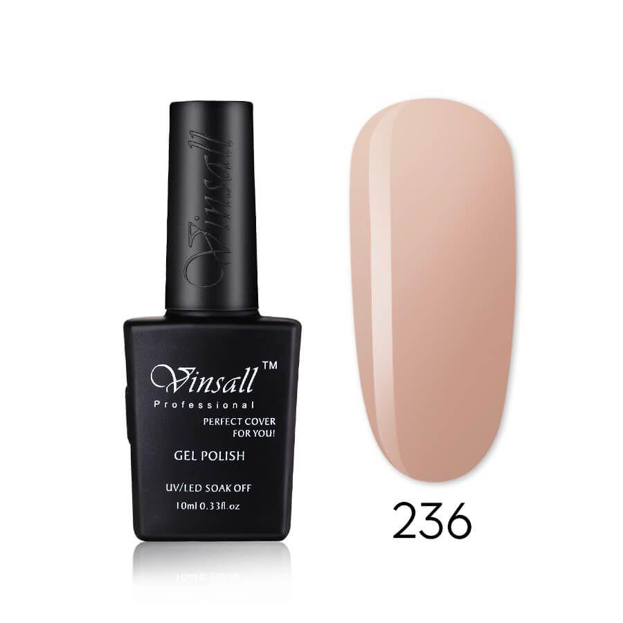 Vinsall Cover pink гель-лак №236, 10 мл