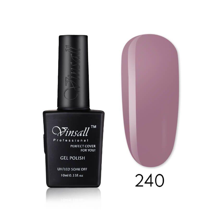 Vinsall Cover pink гель-лак №240, 10 мл