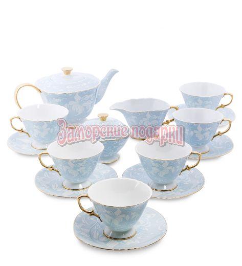 """AS-42 Чайный сервиз на 6 перс. """"Фиоре Дорато"""" (Pavone)"""