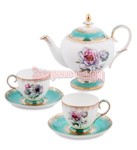 "JK- 24 Чайный набор на 2 перс.""Цветок Неаполя"" (Pavone)"
