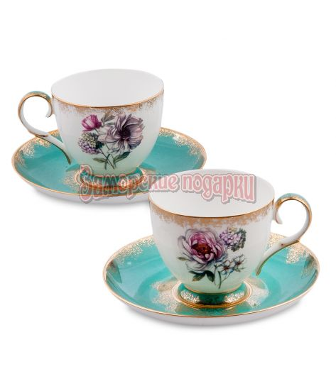 "JK- 23 Чайный набор на 2 перс.""Цветок Неаполя"" (Pavone)"