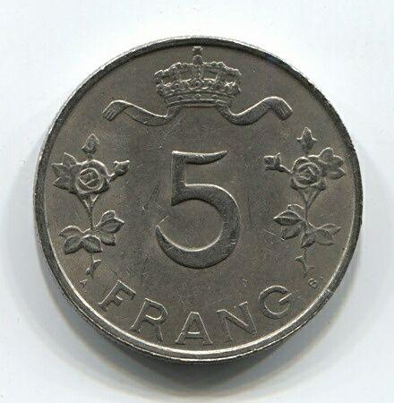 5 франков 1949 года Люксембург