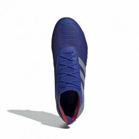 Футбольные бутсы adidas Predator 19.1 FG синие