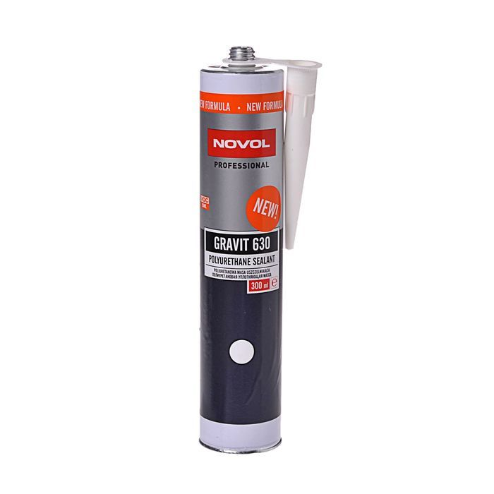 NOVOL Герметик полиуретановый GRAVIT 630 белый, объем 310мл.